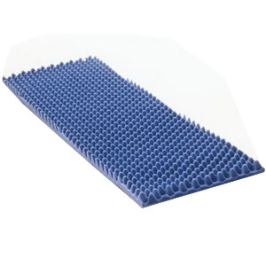 "Joerns Healthcare Therapad Eggcrate Mattress, Puncture-Proof, Full 50"" x 72"" x 4"" JN38014"