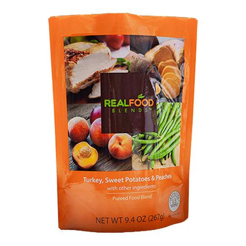 Real Food Blends Tube-Fed Meals, Turkey, Sweet Potatoes & Peaches, 9.4 oz KF78185