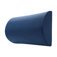 "K2 Health Products Super Compressed Posture Support Half Roll Pillow 14-1/2"" L x 8"" x 4-1/2"" Thickness, Multi-Position Use KHPKCMPHR"