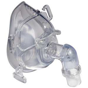 Sunset Classic Full Face CPAP Mask with Headgear Small KRCM007S