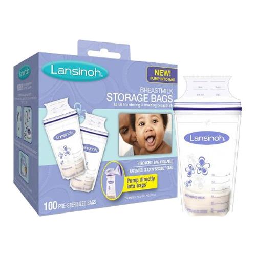 Lansinoh Breastmilk Storage Bags, 100 ct. LAN20473
