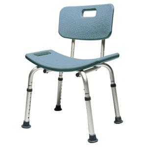 "Lumex Platinum Collection Bath Seat with Backrest, 22"" x 20"" x 19"", Blue LS7921RB"