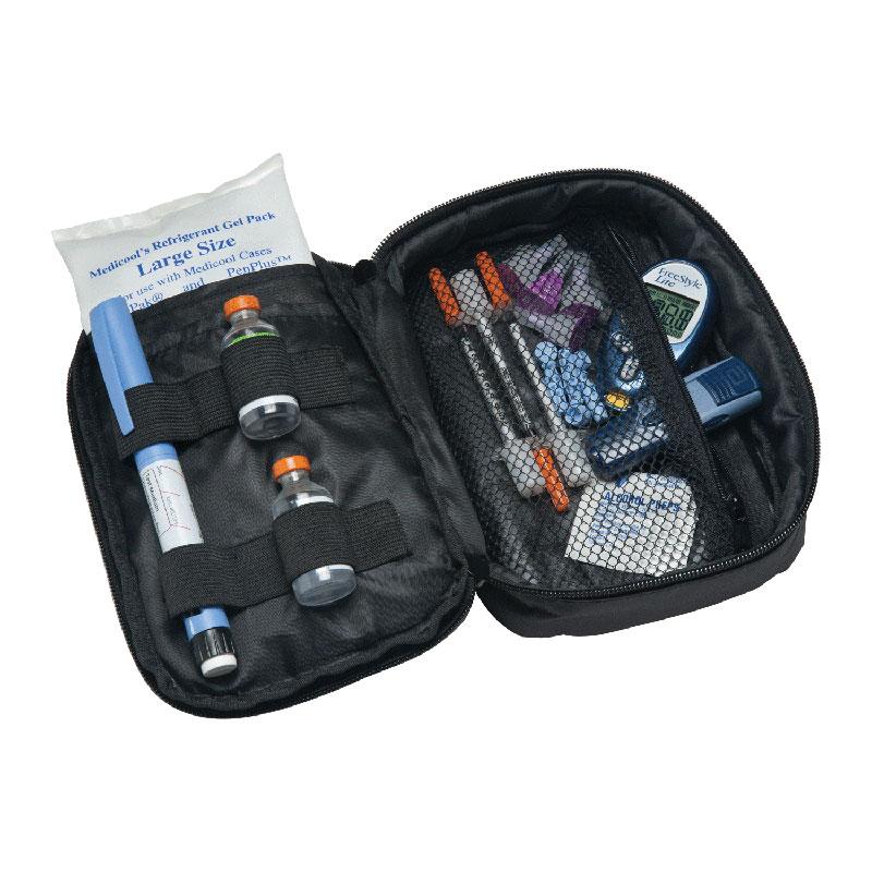 "Medicool Diabetic Travel Organizer Plus 5"" x 6-1/2"" x 2-1/2"" MDDAILYDO"