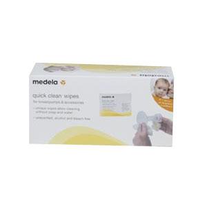 Quick Clean Breast Pump Wipes, 40/Pkg ML87059