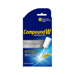 Medtech Compound W® Freeze Off® Original Wart Removal System MLB075137530058