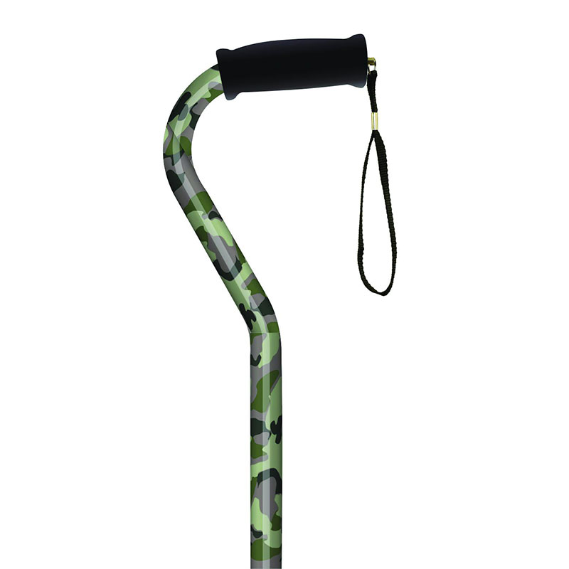 Offset Handle Cane, Camouflage MNT21164