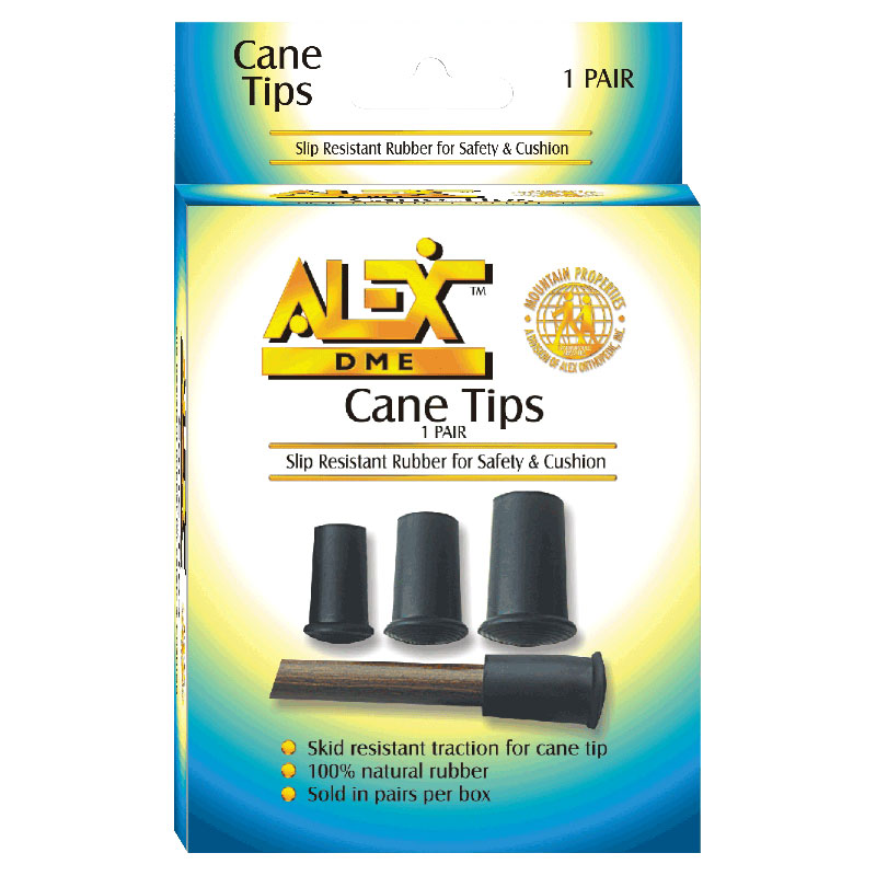 Alex Orthopedic Replacement Rubber Cane Tip 16mm MNT99016