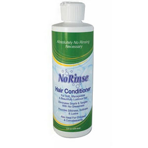 No-Rinse® Hair Conditioner No Alcohol, Ready-to-Use 8 oz NR00540