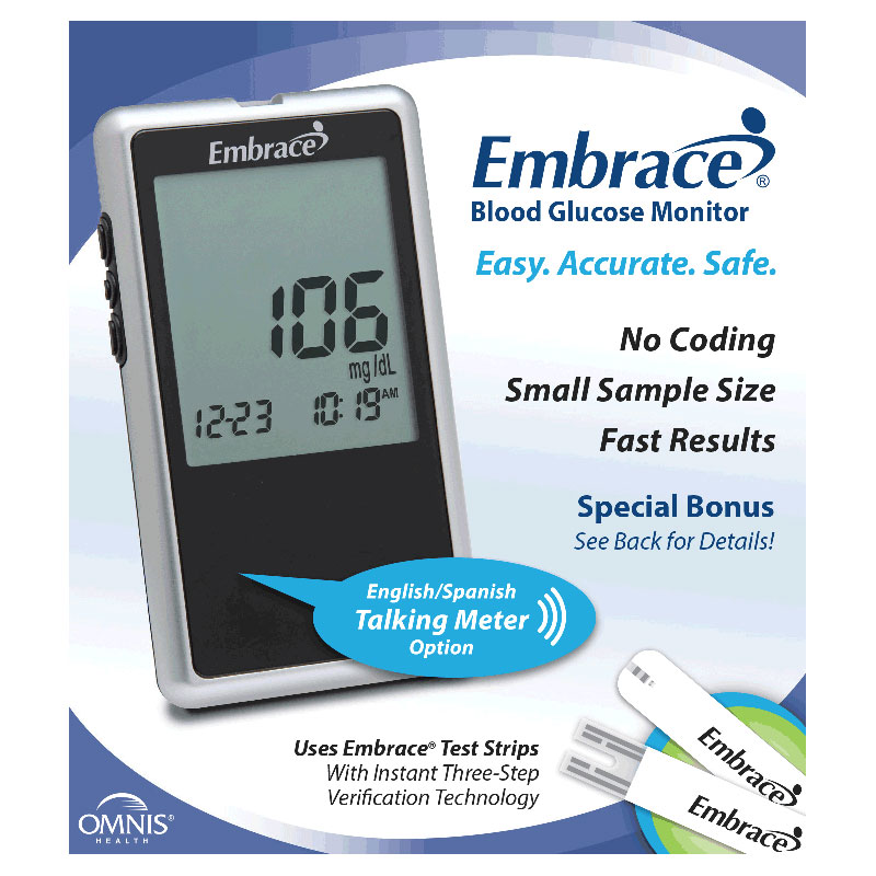 Embrace No Code Talking Meter OH01AB0200B