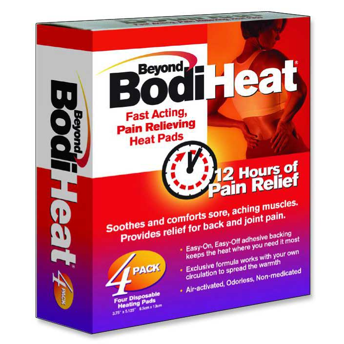 Beyond BodiHeat Pain Relieving Heat Pad, Back OKO74984