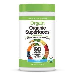 Orgain Organic Superfoods All-In-One Super Nutrition Powder, Original Flavor, 0.62 lb Canister ORG851770003971