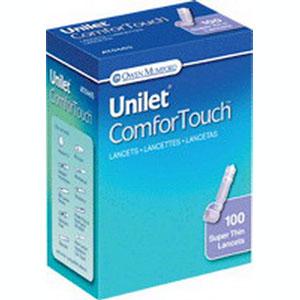Owen Mumford Inc Unilet® ComforTouch™ Lancet 30G, Disposal, Recappable OWAT0465