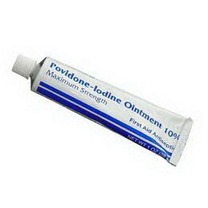 Povidone Iodine Ointment, 1 oz. Tube PH1631654