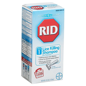Rid Lice Treatment Shampoo with Comb 2 oz PH412