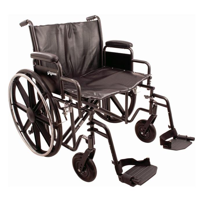 "ProBasics K7 Extra Heavy Duty Wheelchair, 28"""" x 20"""". PMIWC72820DS"
