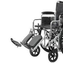 Elevating Leg Rest for K7 Wheelchair, Aluminum, Pair PMIX1WC7AS22