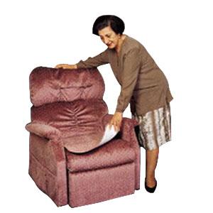 "Fiberlinks Textiles Inc Waterproof Chair Pad 21"" x 22"", Blue PRP2122BL1"