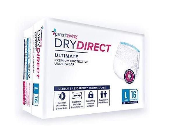 Dry Direct Super Brief, Large PTGW28ML3100ND15