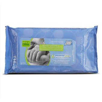 "Nice and Clean Baby Wipe Unscented 7"""" x 8"""" PYM233XT"