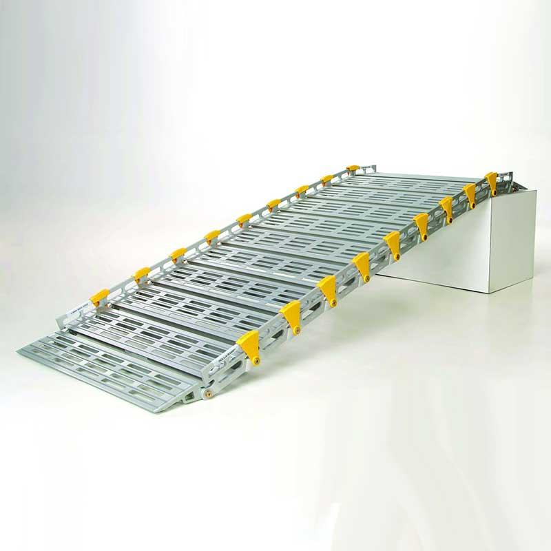 "Roll-A-Ramp, 8 ft. x 26"", Versatile Ramp Design RARA12607A19"