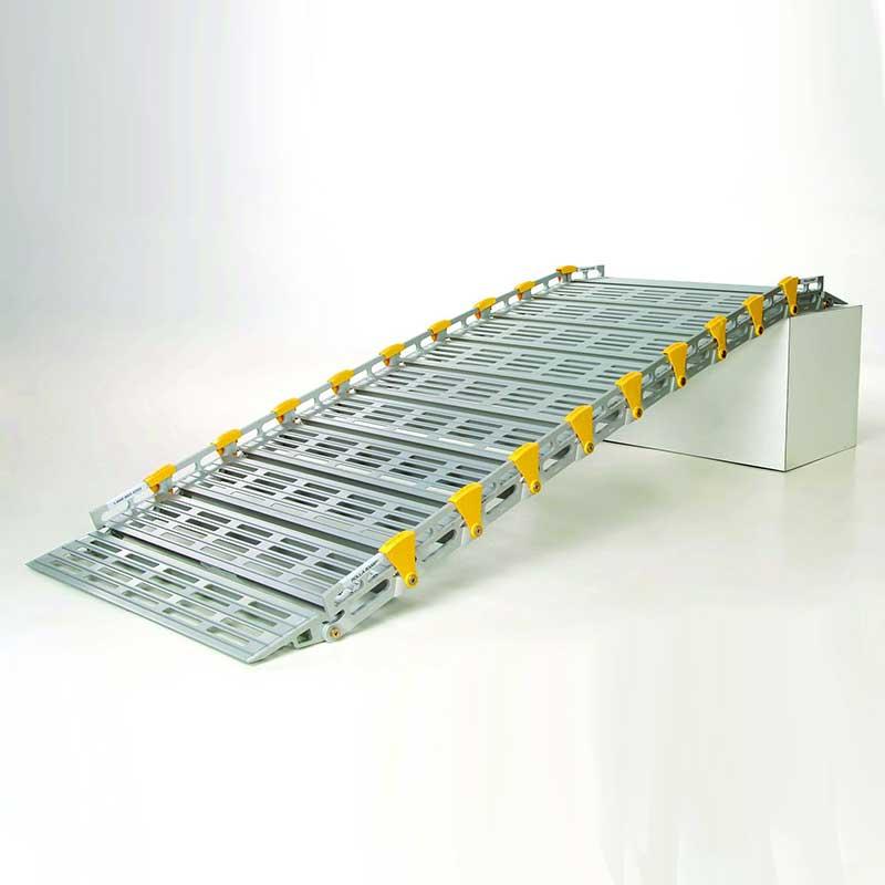 "Roll-A-Ramp, 9 ft. x 26"", Versatile Ramp Design RARA12608A19"
