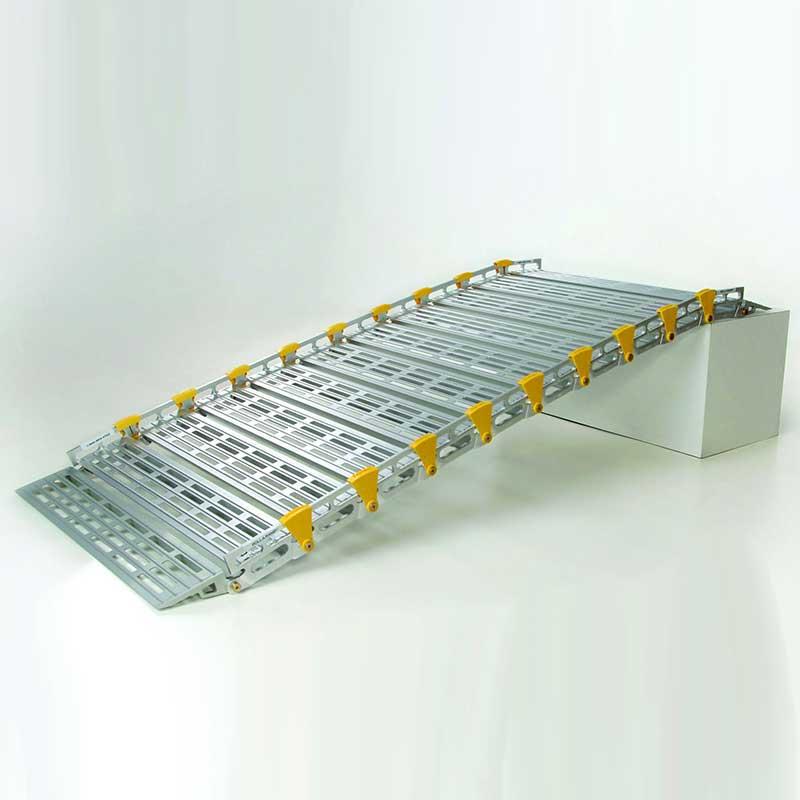"Roll-A-Ramp, 7 ft. x 30"", Versatile Ramp Design RARA13006A19"