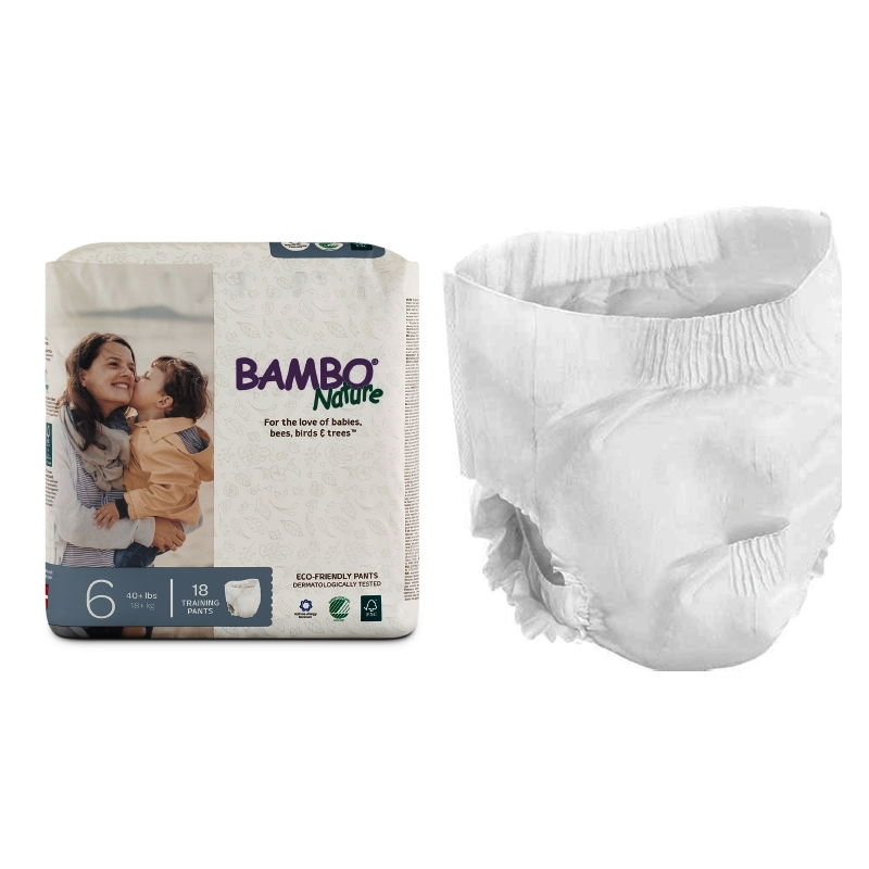 Bambo Nature Training Pants, Size 6, 40+ lbs. RB310179