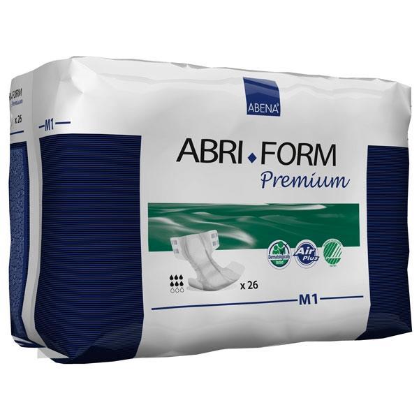 """Abri-Form M1, Medium Premium Adult Briefs 27.5"""""""" to 43"""""""" RB43061"""