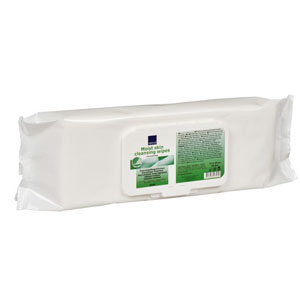 """Abena Moist Unscented X-Large Wipes 8"""" x 12-1/2"""" RB6595"""