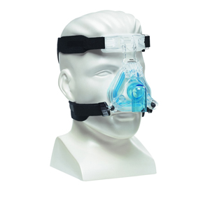 Respironics ComfortGel™ Blue Mask with Premium Headgear Medium, Latex-Free RE1070038