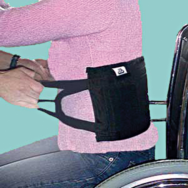 "SafetySure Transfer Sling 19"""" L x 8"""" H, 3/8"""" Thickness, 4 Hand Grips RI3011"