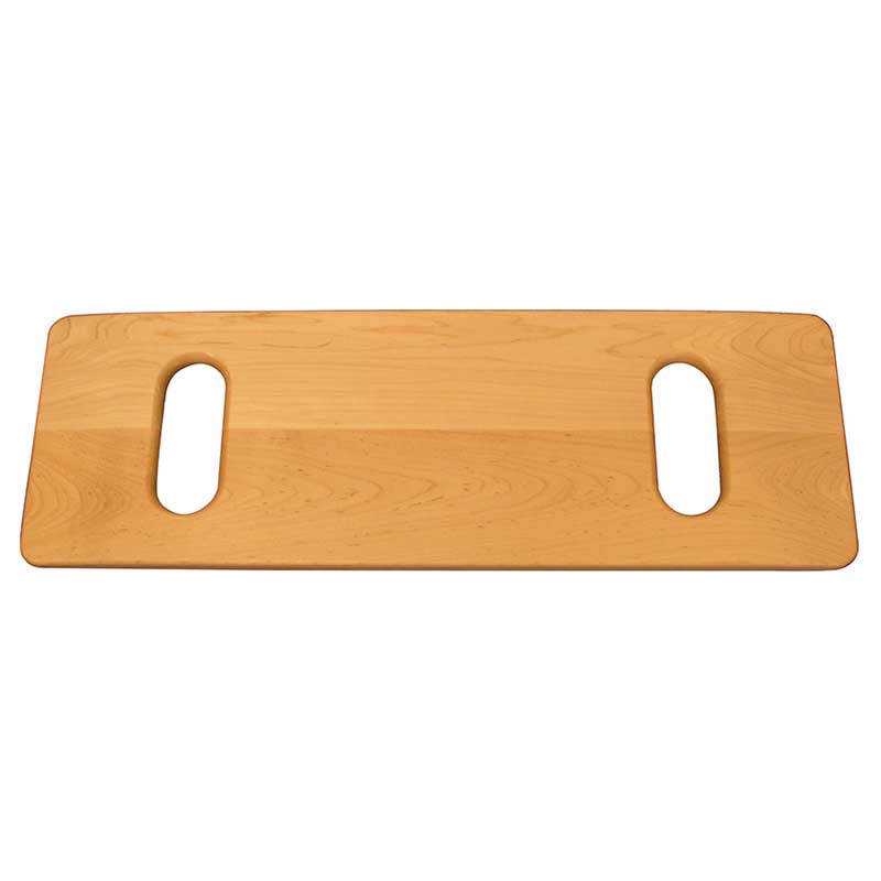 """MTS SafetySure® Solid Maple Transfer Board with Hand Slots 24"""" L x 8"""" W RI5210"""
