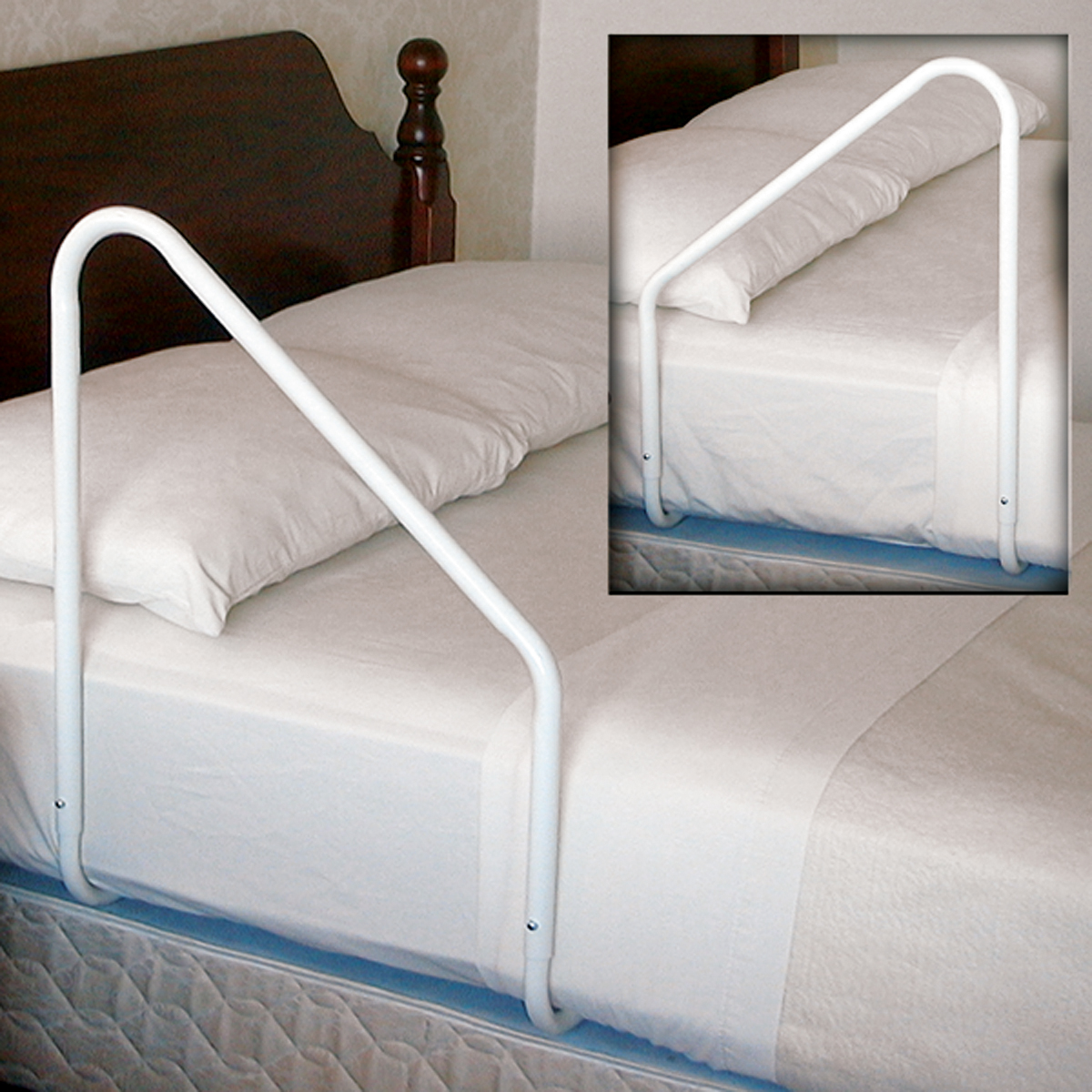 "MTS SlantRail® Reversible Bed Rail 21"" H x 18-1/2"" W Handle RI600"