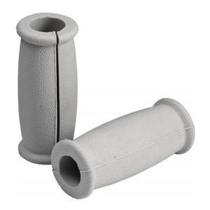 Carex Grey Split Crutch Handgrips, Pair RMA95400