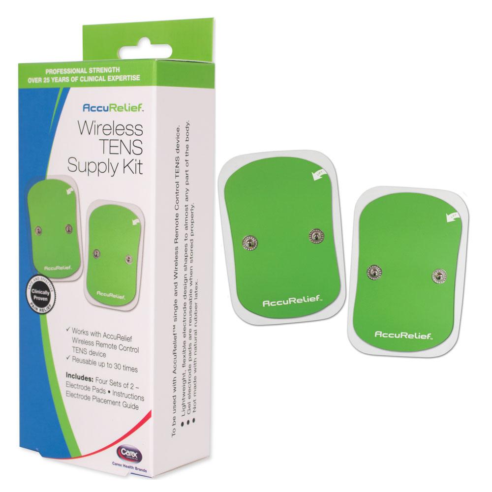 AccuRelief Wireless TENS Supply Kit LG RMACRL0033