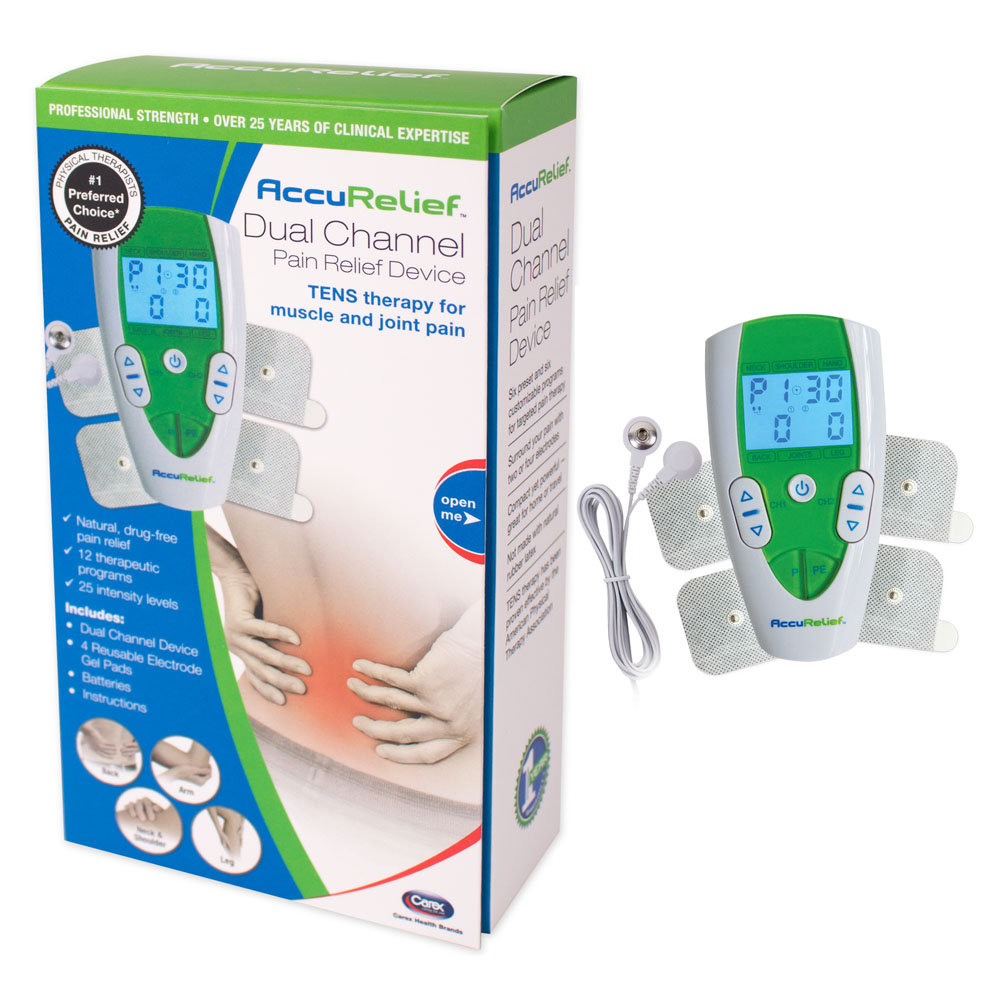 AccuRelief Dual Channel TENS RMACRL3001