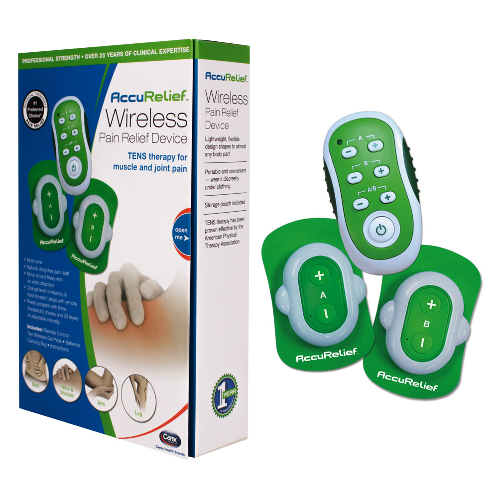 AccuRelief Remote Wireless TENS RMACRL9001
