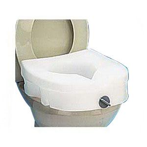 E-Z Locked Raised Toilet Seat, Weight Capacity 300 RMB312C0