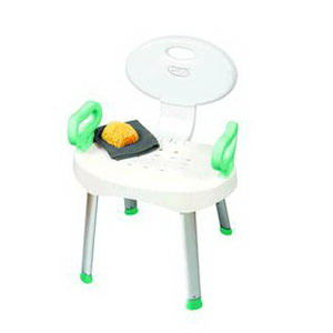 Carex E-Z Bath & Shower Seat with Handles, Adjustable Height, Weight Capacity 300 lb RMB66000