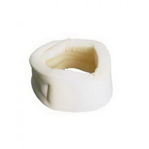 Carex® Cervical Collar Poly Foam with Soft Porous Cotton Cover, Hook and Loop Closure Adjusts for Proper Fit RMP73000