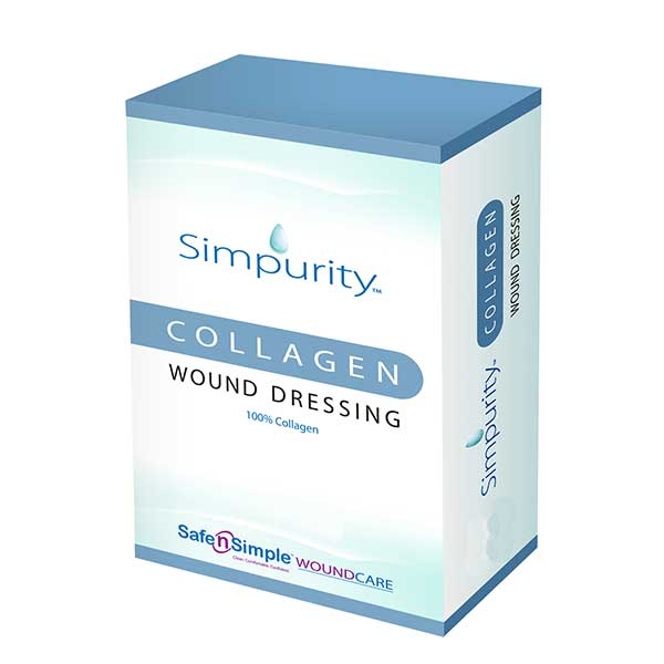 Safe N Simple Simpurity™ Collagen Wound Dressing Powder, 1g Vial RRSNS5001G