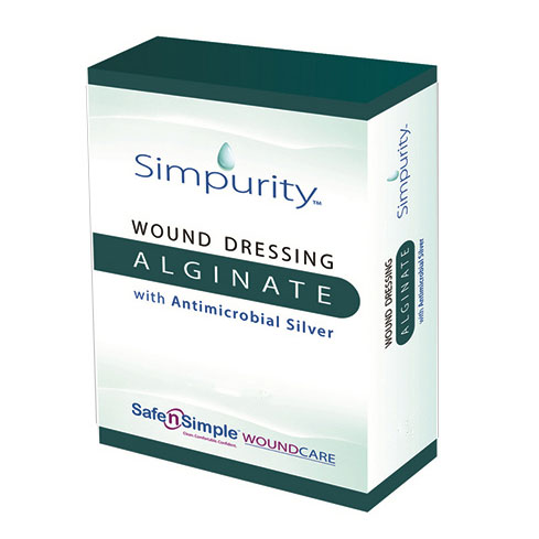 "Simpurity Silver Alginate Rope, 12"" RRSNS51712"