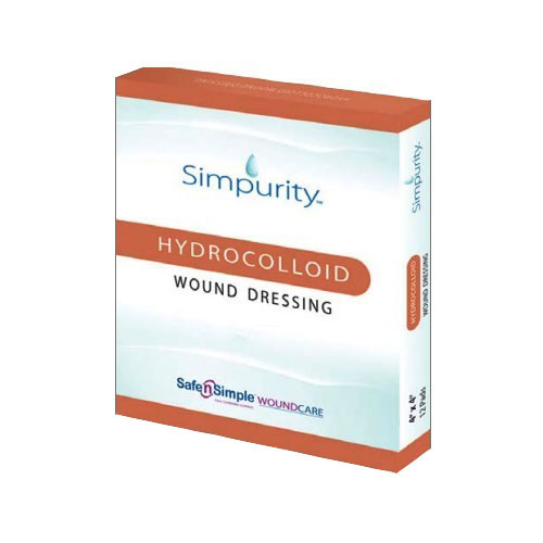 "Safe N' Simple Simpurity™ Hydrocolloid Wound Dressing, 2"" x 2"" RRSNS55402"