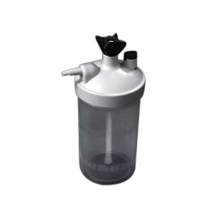 Salter Labs High Flow Dry Humidifier 350cc Bubble, 6 to 15 LPM SA7900025