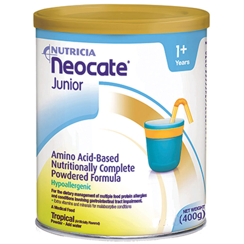 Nutricia North America Neocate® Junior Nutrition Powder 14 oz Can, Tropical Flavor SB12124