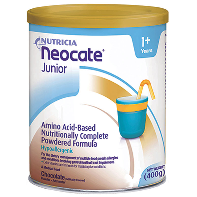 Nutricia North America Neocate® Junior Nutrition Chocolate Powder, 14 oz Can SB12690