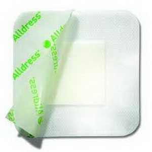 """Alldress Absorbent Film Composite Dressing 4"""""""" x 4"""""""", 2"""""""" x 2"""""""" Pad Size SC265329"""