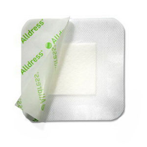 """Molnlycke Alldress® Absorbent Film Composite Dressing 6"""" x 8"""" SC265369"""