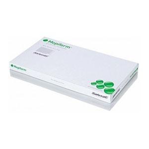 "Molnlycke Mepiform® Safetac Self-Adherent Soft Silicone Dressing 4"" x 7"" SC293499"