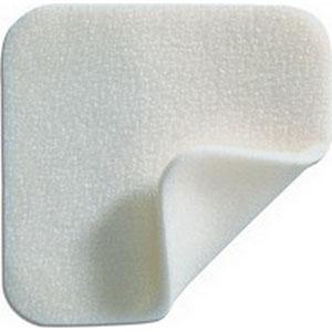 "Mepilex Soft Silicone Absorbent Foam Dressing 4"" x 8"" Rectangular SC294299"